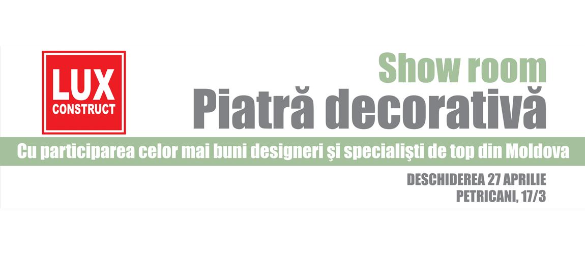 Producator Piatră Decorativă în Chișinău